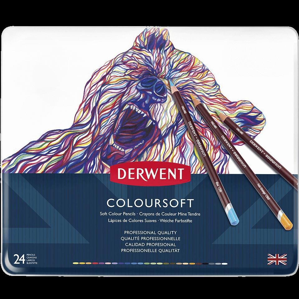 Derwent ColourSoft pencils