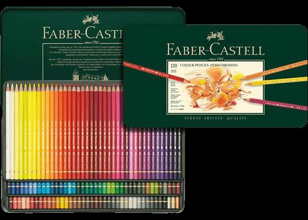 Faber-Castell Polychromos pencils