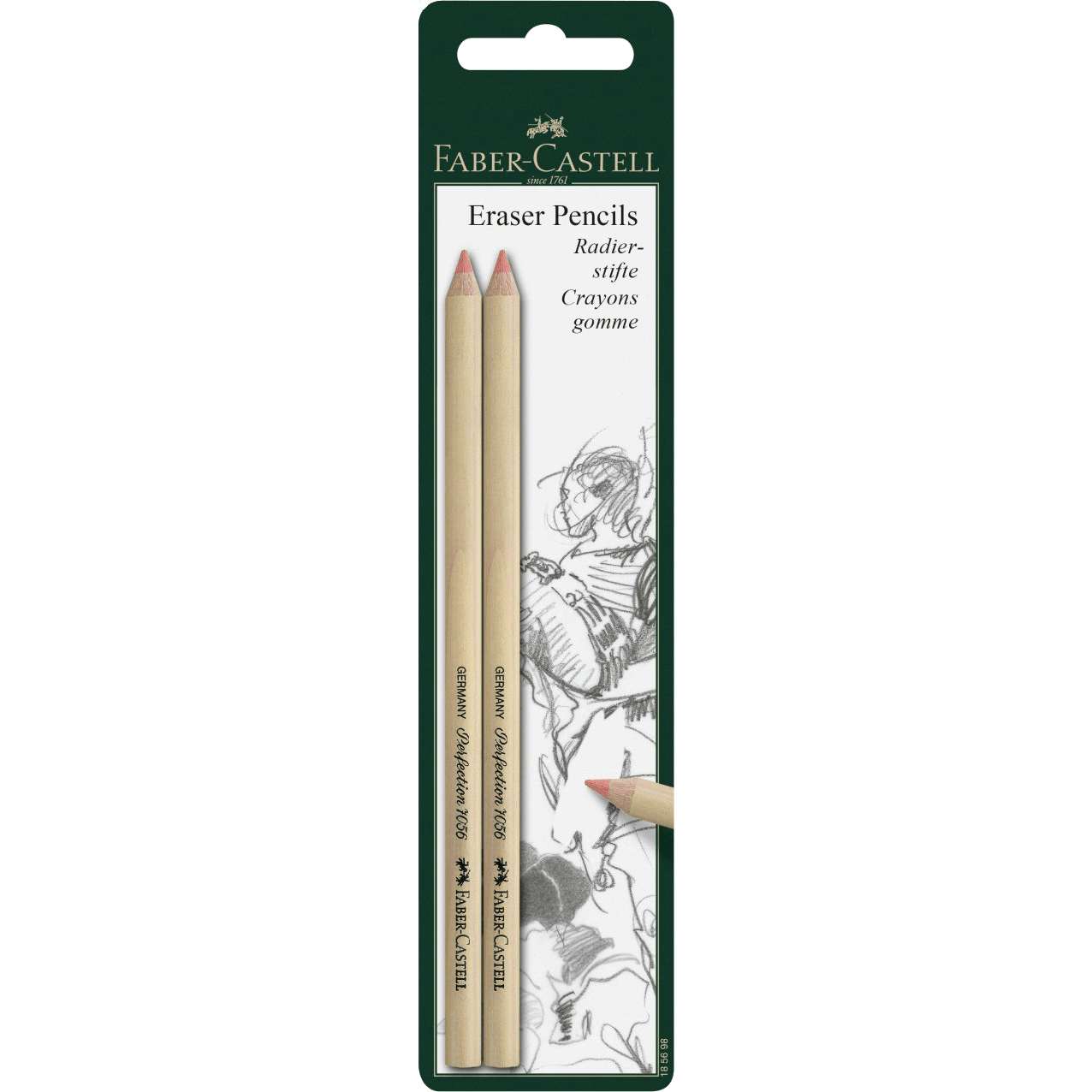 Faber-cCastell eraser pencil