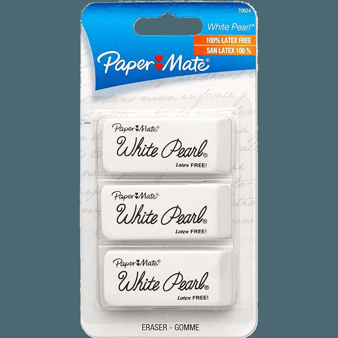 Paper Mate White Pearl