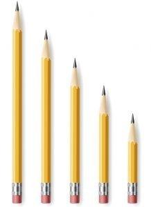 Pencil length
