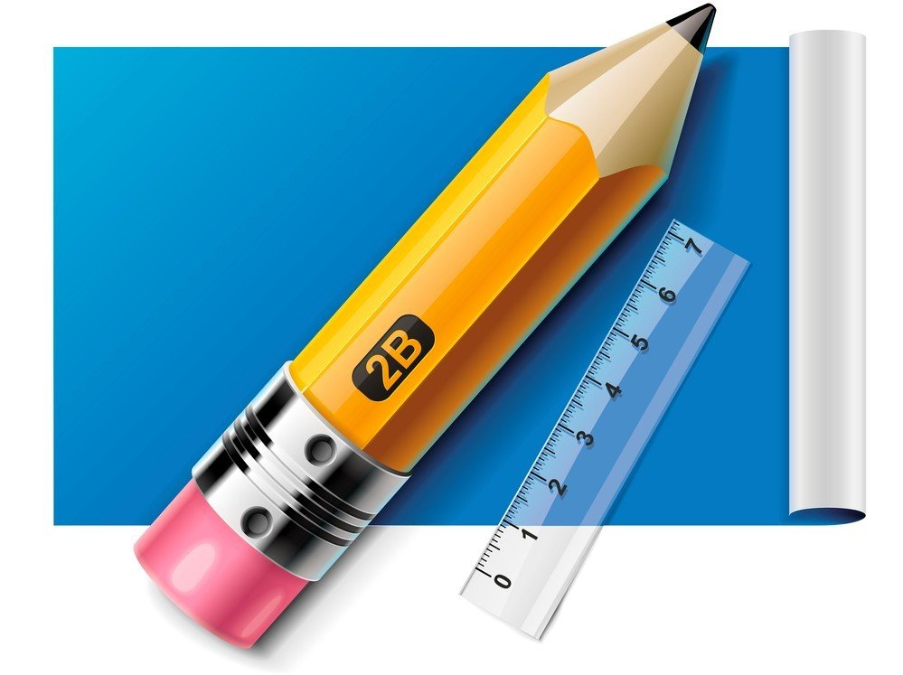 Weight and length of pencil