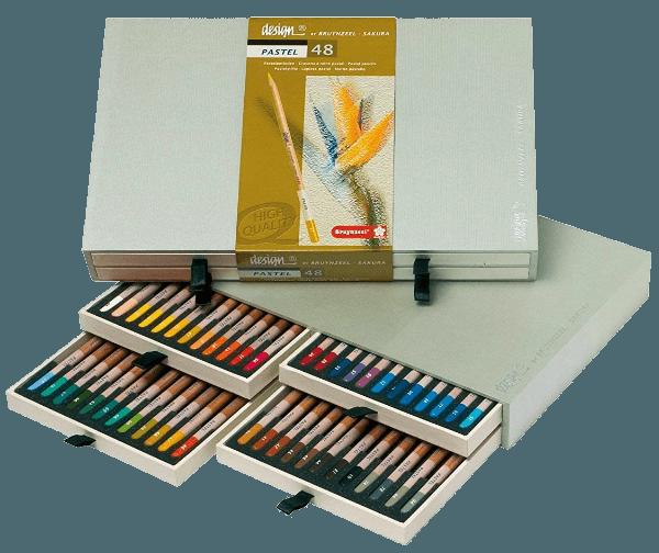 Bruynzeel Design pastel set