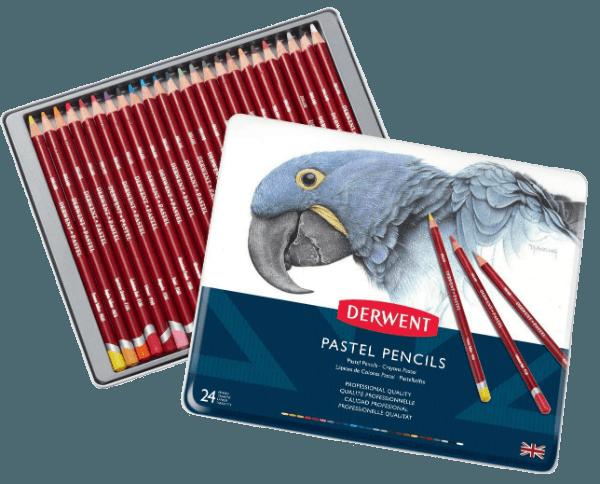Derwent pastel pencil set