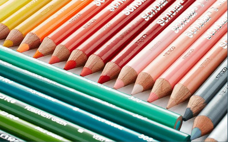 Prismacolor Scholar colored pencils review