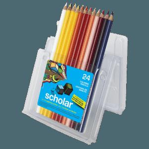 Prismacolor Scholar in plastic case