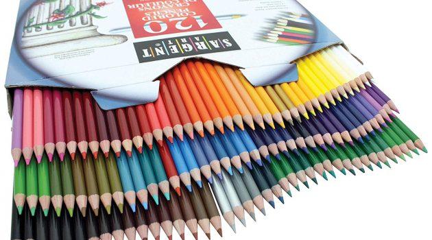 Sargent Art Colored Pencils 120-Piece Set Review