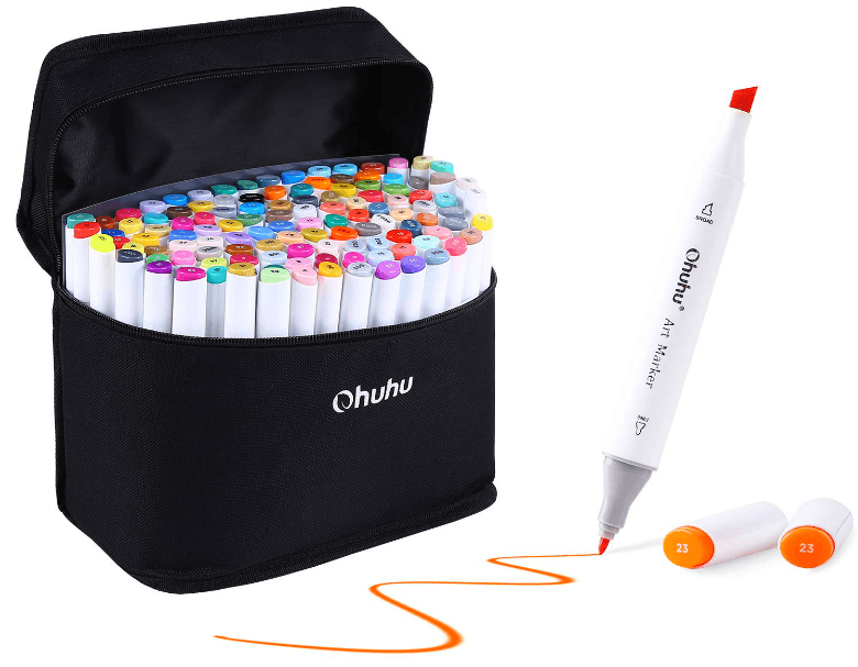 Ohuhu markers review