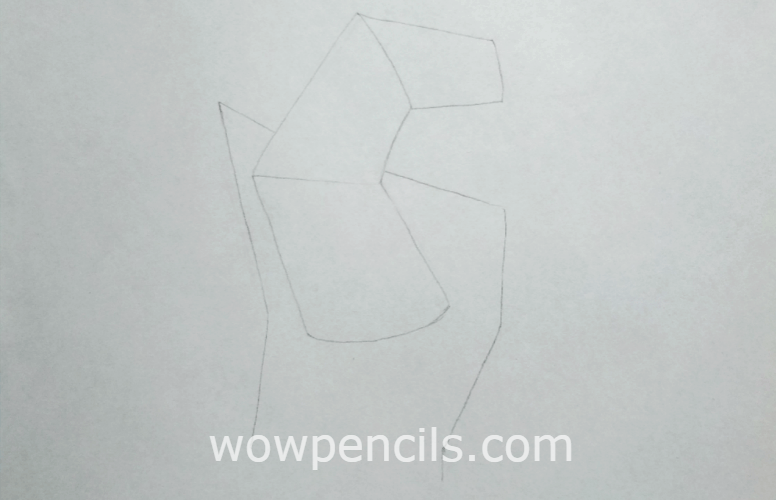 Step 1: shapes of thumb hand and wrist