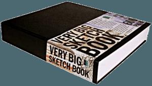 Art Alternatives Very Big Sketch Book in hardcover