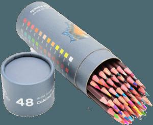Art-n-Fly pencils in a box