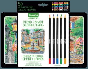 Crayola Blend & Shade colored pencils