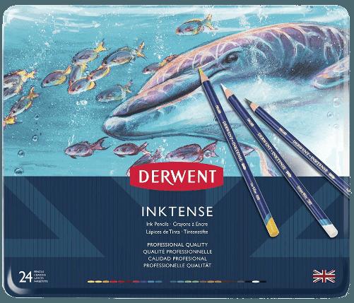 Derwent Inktense pencil set