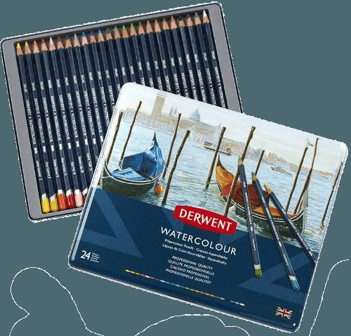 Derwent Watercolour pencil set