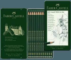 Faber-Castell 9000 pencil set