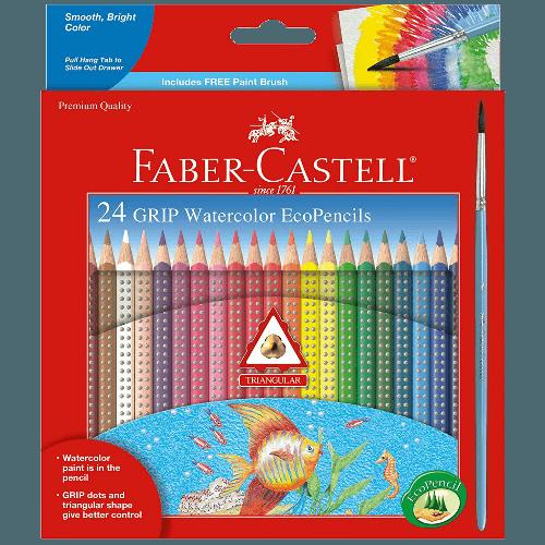Faber-Castell GRIP watercolor pencils