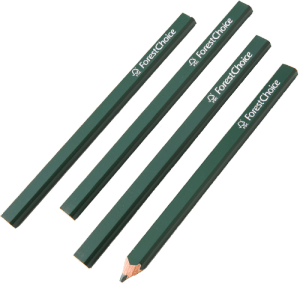 ForestChoice carpenter pencil