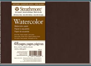 Strathmore 400 Series sketchbook