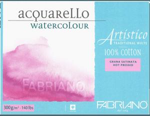 Fabriano Artistico watercolor paper