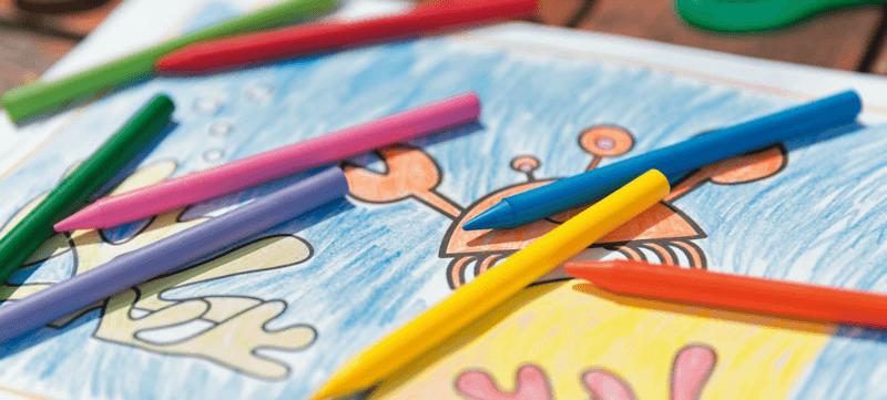 Cool crayons