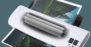 Laminator heating rollers