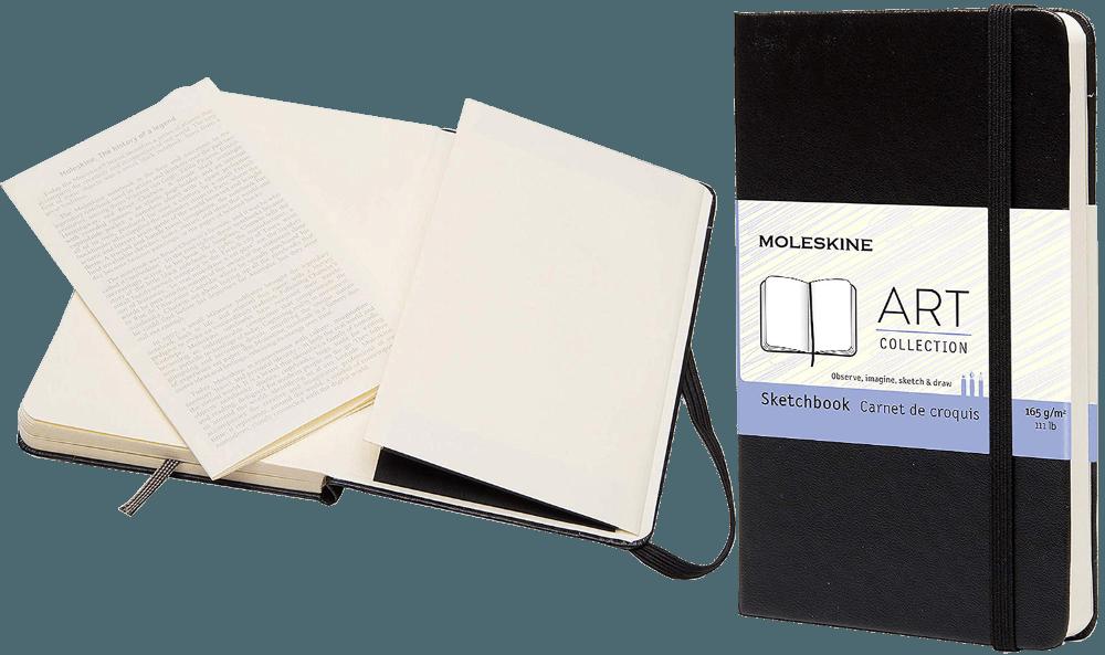 Great Review Of Moleskine Art Plus Sketchbook Wowpencils