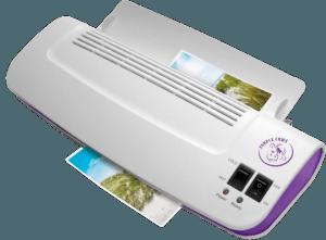 Purple Cows laminator for teachers