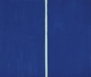 Blue Painting by Barnett Newman