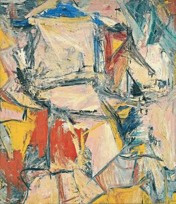 Interchange by Willem de Kooning