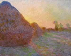 Meules by Claude Monet