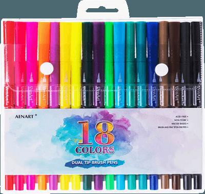 Aen Art brush pen set
