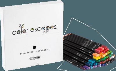 Crayola Color Escapes pencils