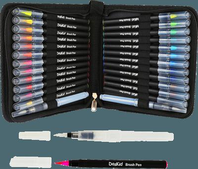 DasKid brush pen set