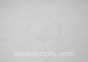 Inner lines of hood