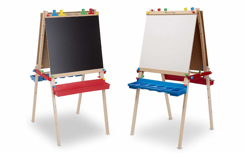 Melissa & Doug Deluxe standing easel review