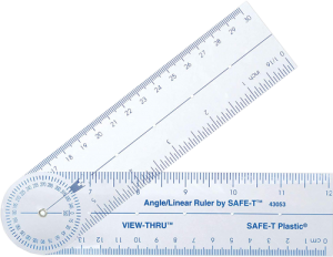 Safe T Ruler View Thru 6 Inch New