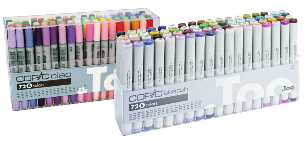 Difference Between Copic Ciao Vs Sketch Markers 2020 At Wowpencils