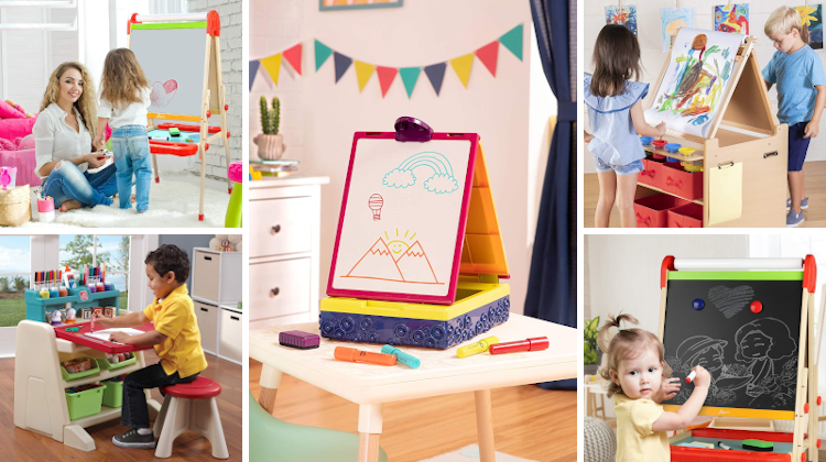 Top 10 Easels for 2-Year-Old Kids (2020)